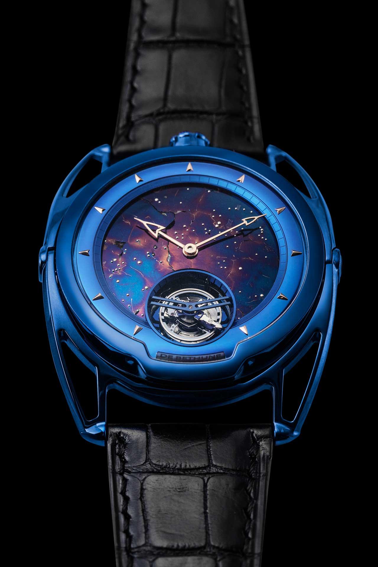DB28 Kind of Blue Tourbillon Meteorite..