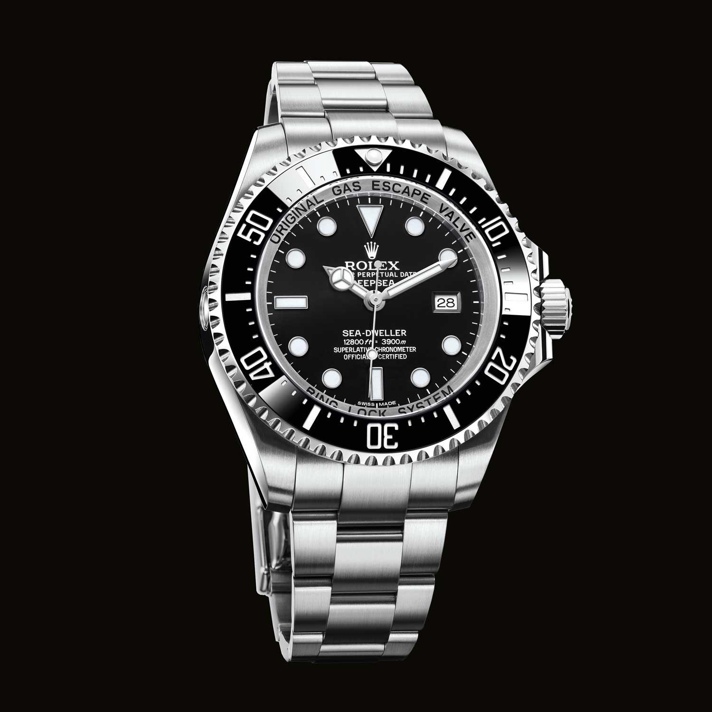 b6ba9891cd3 44mm Rolex Oyster Perpetual Deepsea en acero inoxidable 904L