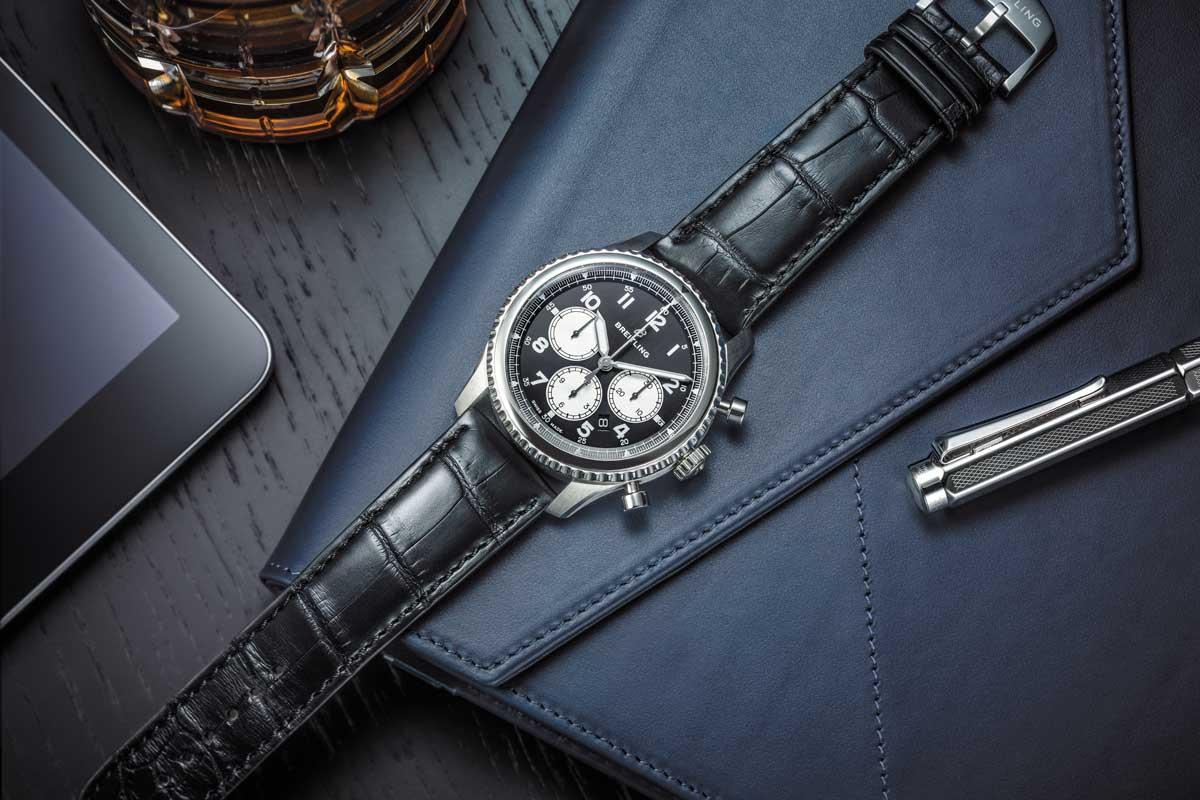7e2c09a1e7f 5 nuevos relojes de la colección Navitimer 8 de Breitling