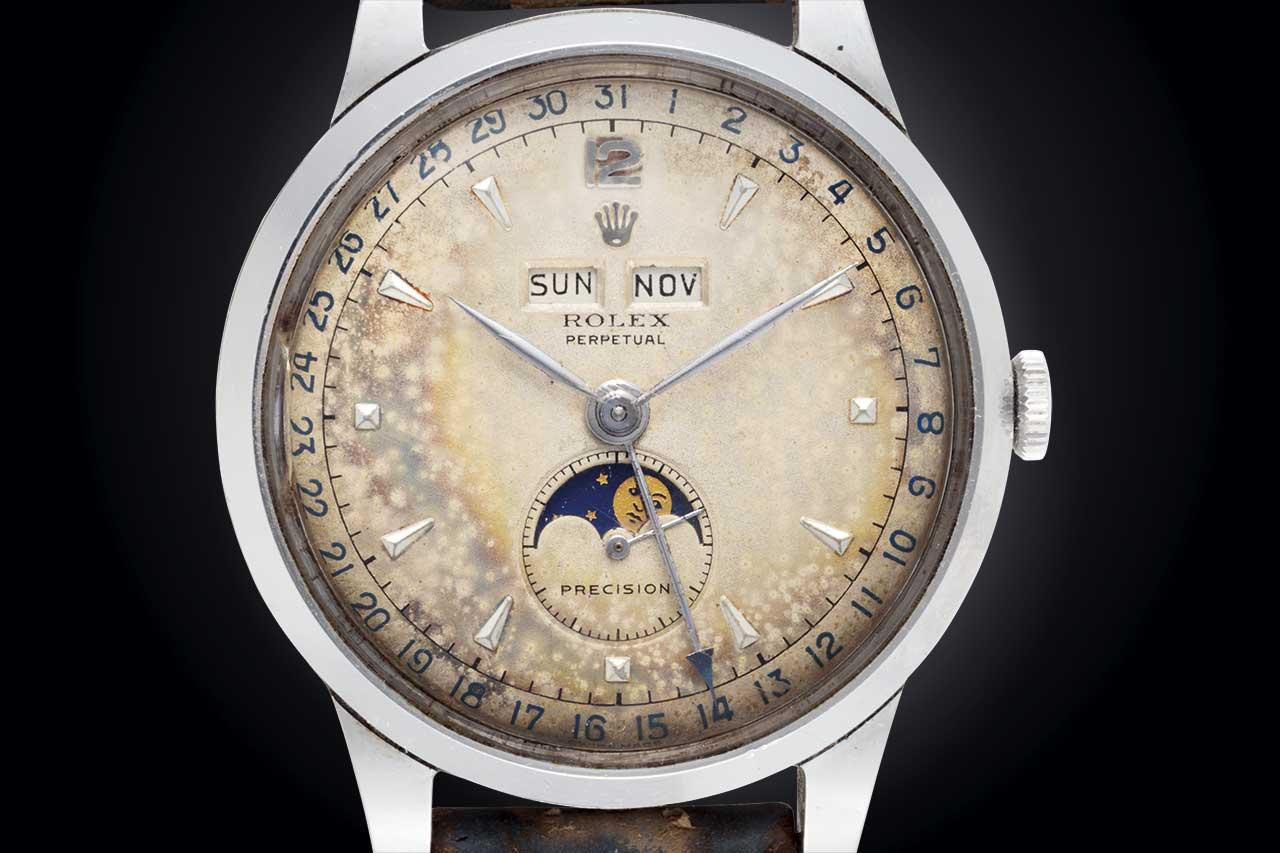 cee40a9fe4d2 La tendencia de los relojes vintage con pátina