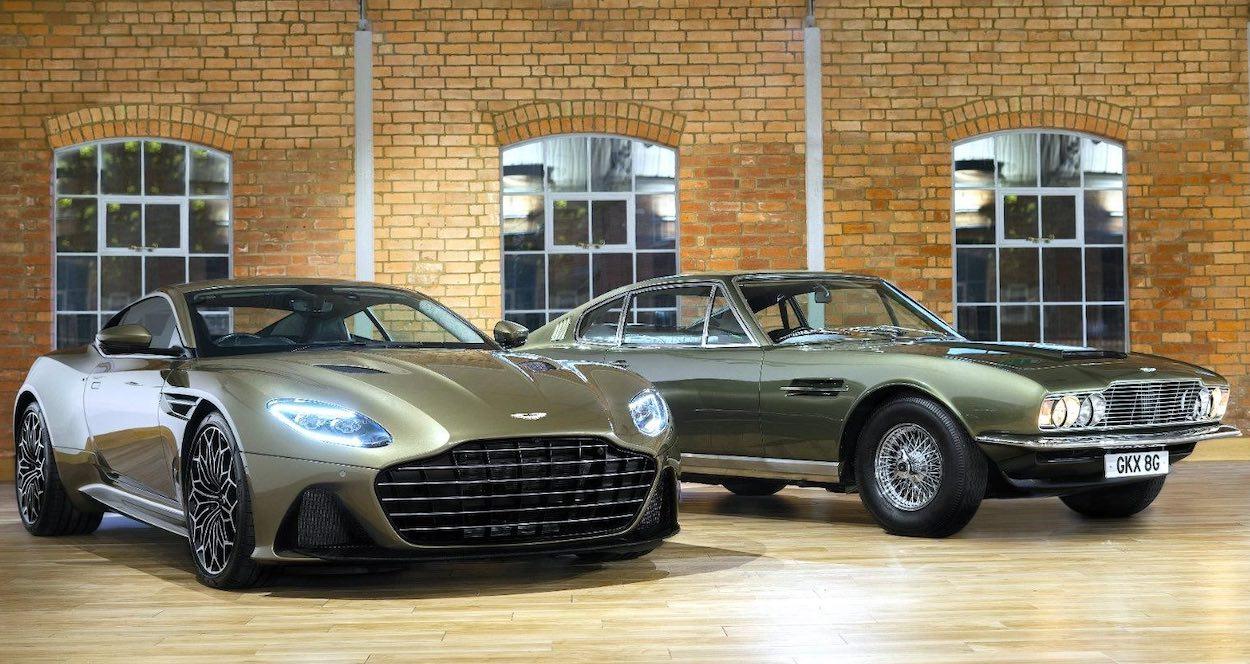 Aston Martin Dbs Superleggera Edición Especial Homenaje A Bond Revolution Mx Y Latam